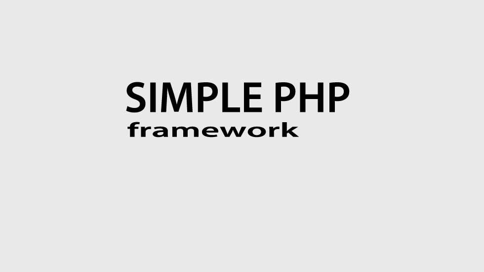 simple-php-framework