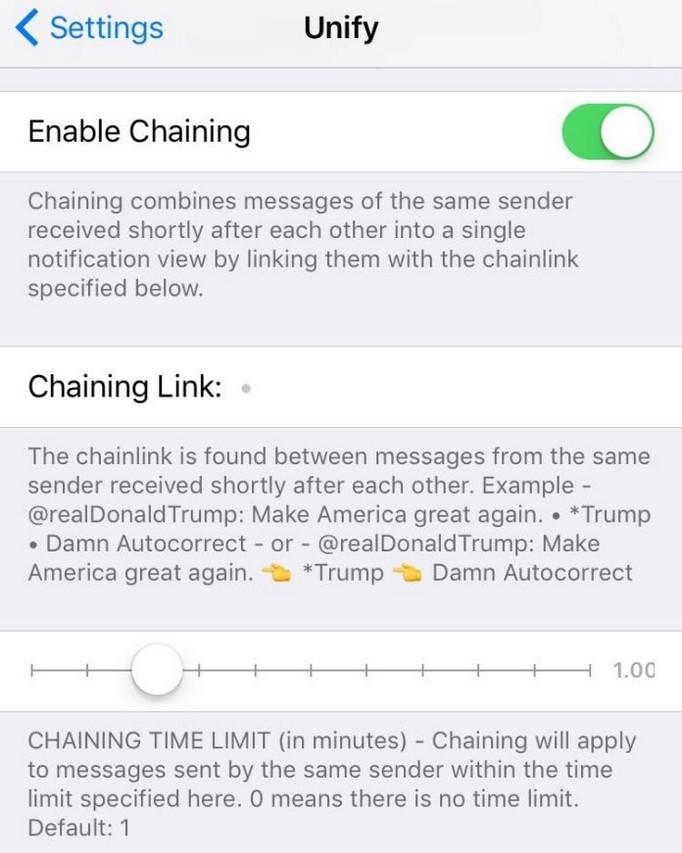 agrupar notificaciones app ios 6