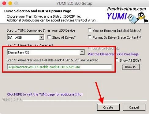 crear multiboot usb linux 4