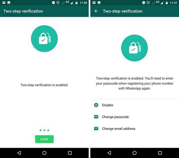 verificacion en dos pasos de whatsapp 4