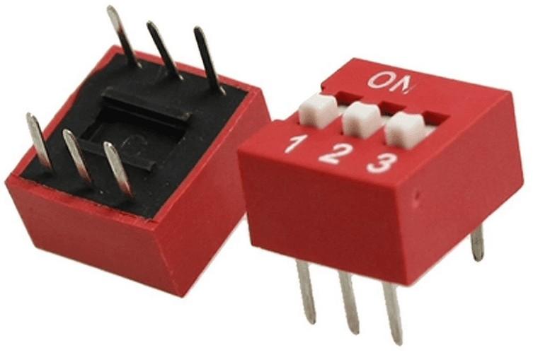 Que son los dip switch