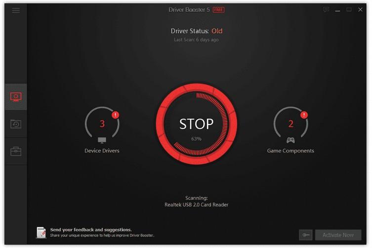 aplicaciones actualizar controladores