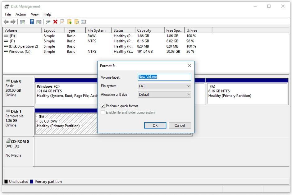como formatear disco duro 1