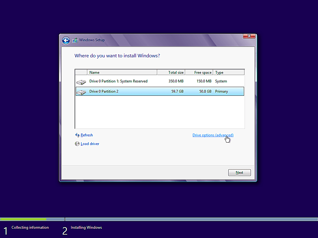como instalar windows 8 10