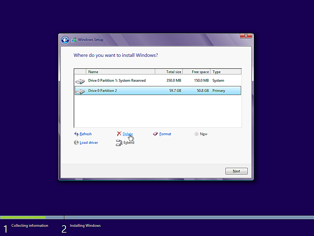 como instalar windows 8 11