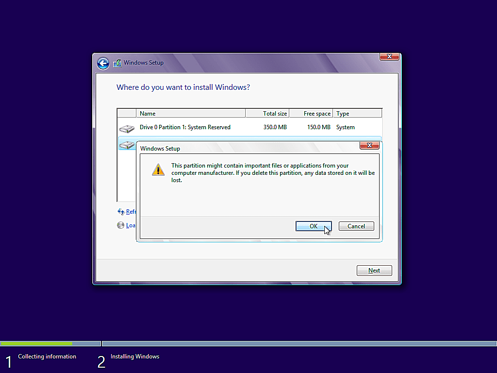 como instalar windows 8 12