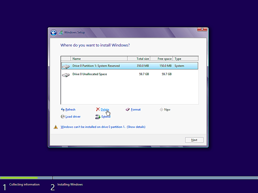 como instalar windows 8 13