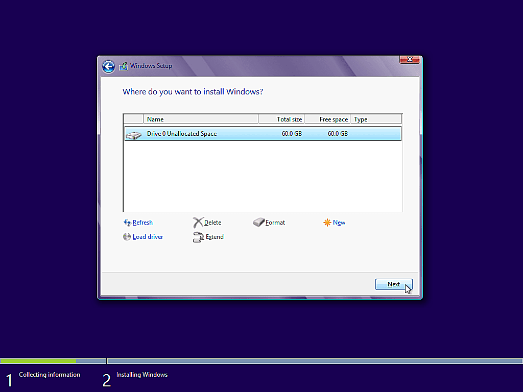 como instalar windows 8 15