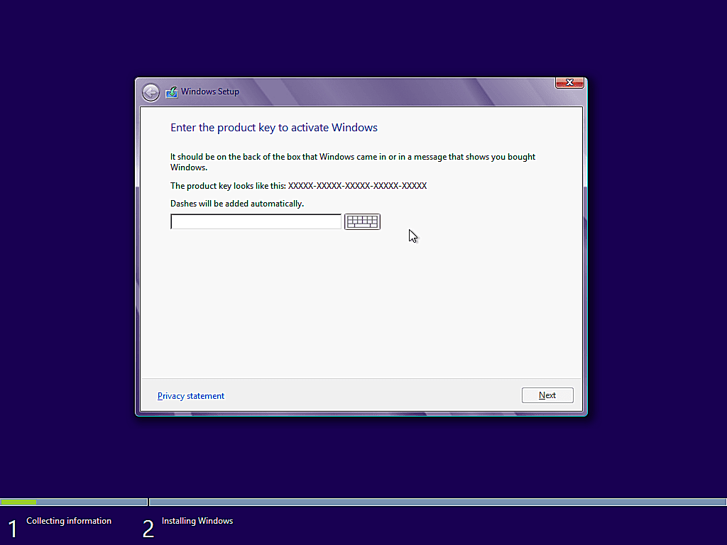 como instalar windows 8 7
