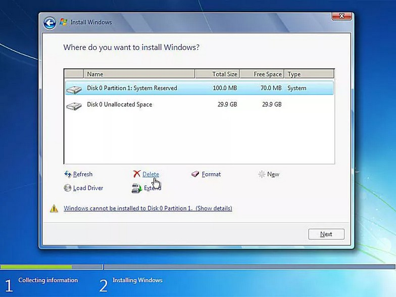 como instalar windows 7 13