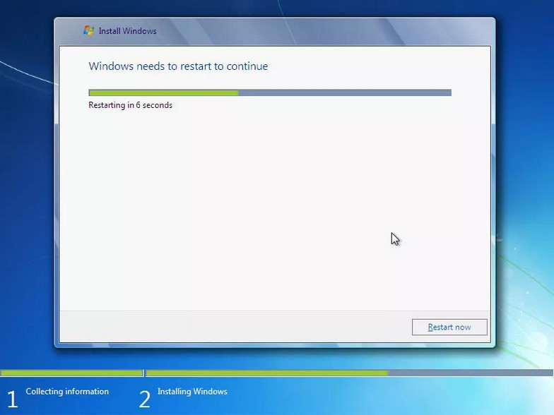 como instalar windows 7 17