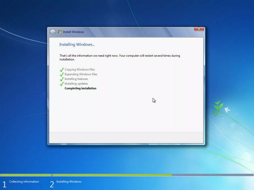 como instalar windows 7 21