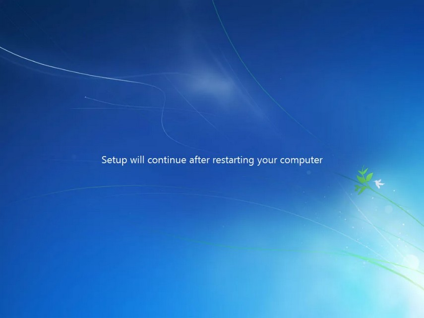 como instalar windows 7 22