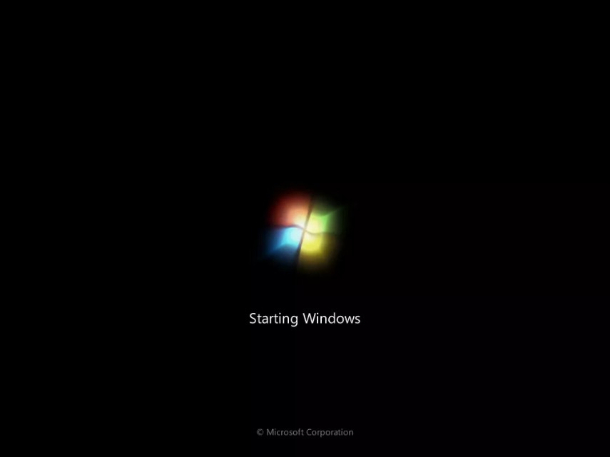 como instalar windows 7 23