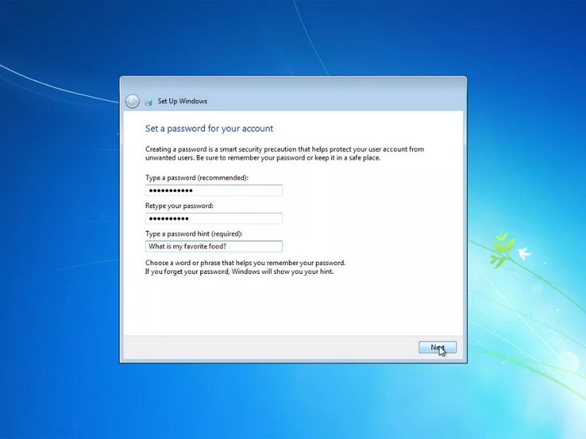 como instalar windows 7 27