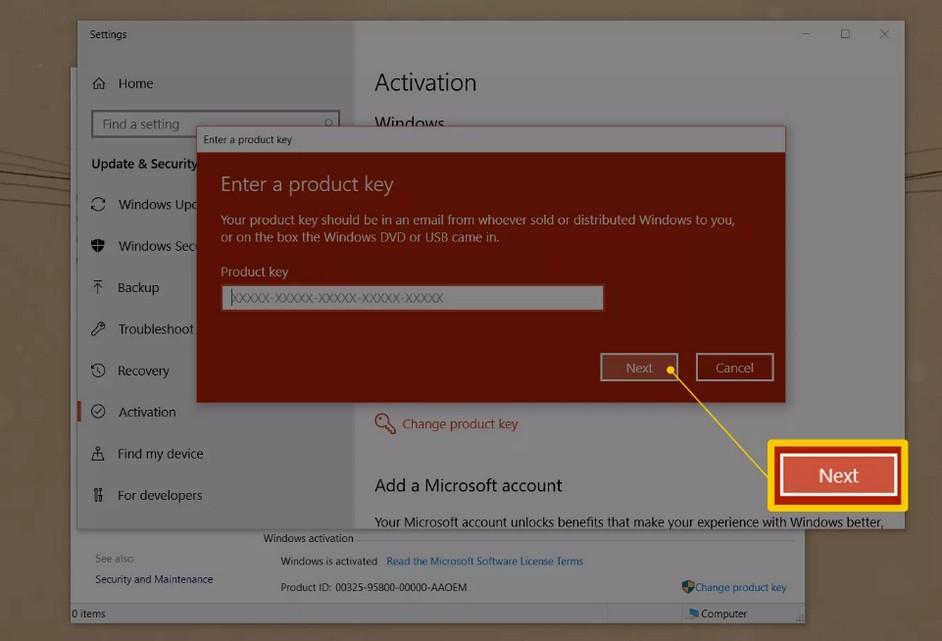 como-cambiar-clave-producto-windows 5